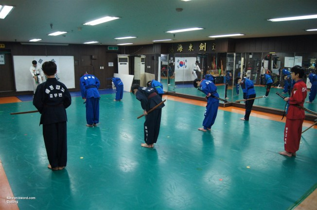 korean sword, dojang safety