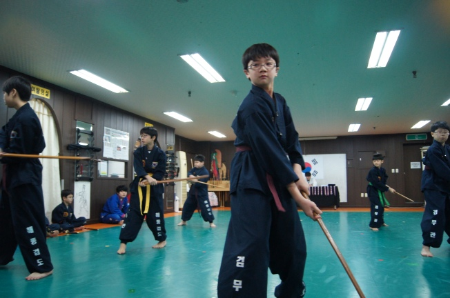 Korean sword, gojeon gumdo, gradings