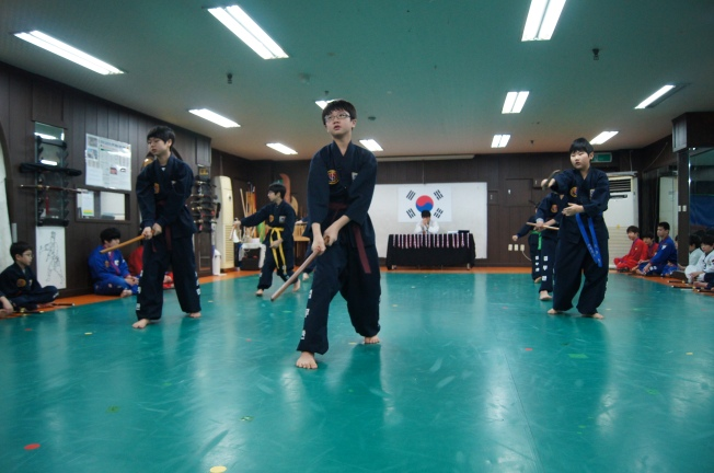 Korean sword, gojeon gumdo. gradings